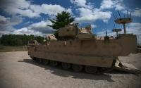 美军测试先进未来战车 每辆可遥控两辆无人战车