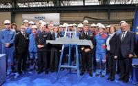 法国未来护卫舰开始建造 隐身造型很科幻