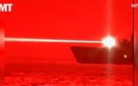 视频:美海军高能激光武器海试击落无人机