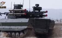 视频:俄罗斯组建战斗机器人部队 5名机器人一个分队