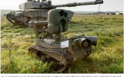 英国防部颁布新科技战略  聚焦五大领域(英文)