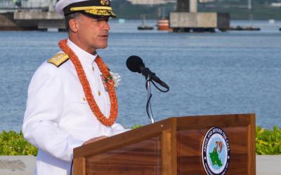 美国国防部宣布印太司令部新任司令