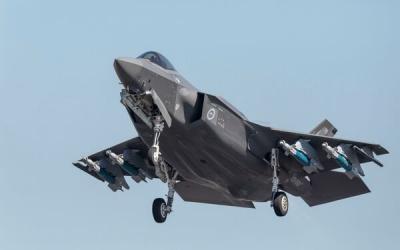 澳大利亚空军首次开展全弹装备F-35A战机训练演习