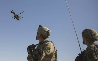 """美军撤离阿富汗时调遣中东驻军遂行""""超地平线""""行动"""